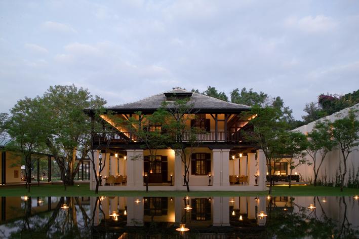 Thailand Chedi Chiang Mai Hotel Restaurant