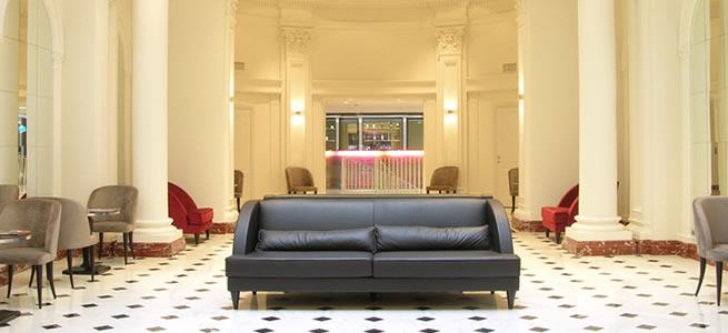 Stylish 4 star design business hotel central Rome