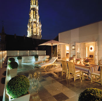 Stylish contemporary boutique hotel Brussels city centre