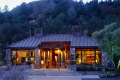 Stylish luxury ranch lodge in Napa Valley, California