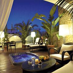 stylish 5 star hotel old town Ibiza