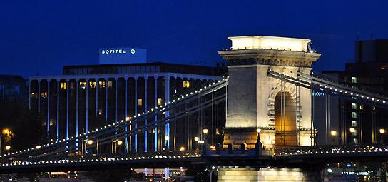 5 star sofitel Budapest Chain Bridge
