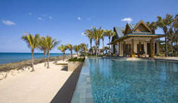 stylish asian style mansion on grand bahama