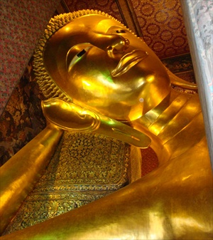 Thailand, Bangkok, Wat Pho, Temple of the Reclining Buddha