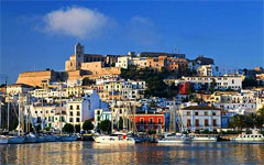 stylish hotels and places to stay in Ibiza