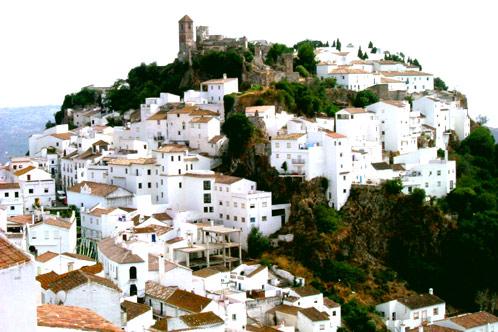 Casares pueblo Costa del Sol, Malaga, Spain