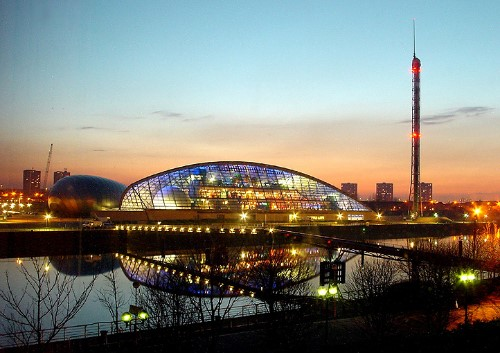 stylish hotels and places to stay in Glasgow UK