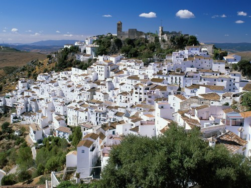 White village of Andalusia
