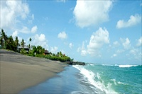 Indonesia Bali Villa Guru beach location