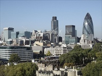 London City business district