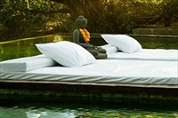 Indonesia Bali SW Rumah Matisse floating daybeds