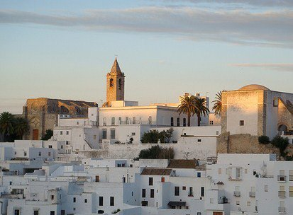Vejer de la Frontera Vejera at dawn