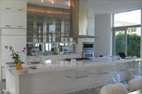 Villa 1 N Miami beach gourmet kitchen