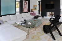 Villa 1, North Miami Beach, living room