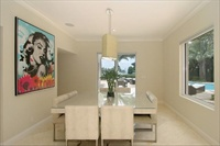 Villa 2, Miami Beach, dining room