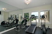 Villa 2, Miami Beach, fitness room