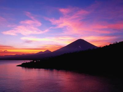 Bali, Indonesia sunset