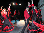 Spanish Flamenco dancing