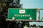 hollywood motorway sign